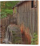 Cable Mill II Wood Print by Charles Warren
