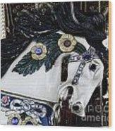 Carousel Horse - 9 Wood Print by Paul Ward