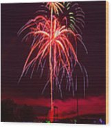 Celebrating America Wood Print by David Hahn