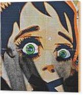 Censorship Wood Print by Harry Spitz