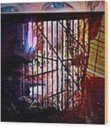 Challenge Enigmatic Imprison Himself Wood Print by Paulo Zerbato