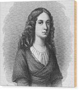 Charlotte Von Schiller Wood Print by Granger