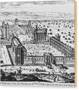 Chateau De Vincennes Wood Print by Granger