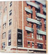 Chelsea Market New York City Wood Print by Kim Fearheiley