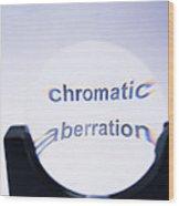 Chromatic Aberration Wood Print by Andrew Lambert Photography