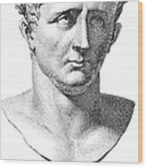 Claudius I (10 B.c.-54 A.d.) Wood Print by Granger