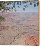 Colorado River Grand Canyon National Park Usa Arizona Wood Print by Audrey Campion