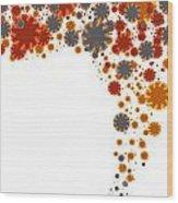 Colorful Blades Wood Print by Atiketta Sangasaeng