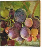 Colors Of Wine Wood Print by Kevin Moore