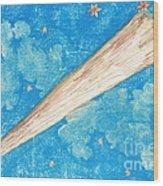 Comet Wood Print by Science Source