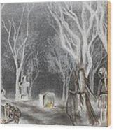 Communion 2 Wood Print by Carla Carson