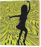Dance Wood Print by Bill Cannon