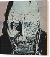 Darth Vader Anakin Skywalker Wood Print by Giuseppe Cristiano