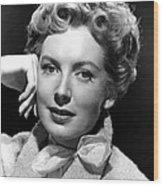 Deborah Kerr, C. Early-mid 1950s Wood Print by Everett