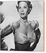 Dinah Shore, Ca. Early 1950s Wood Print by Everett
