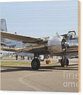 Douglas A26b Military Aircraft 7d15757 Wood Print by Wingsdomain Art and Photography