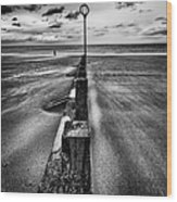 Drifting Sands Wood Print by John Farnan