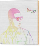 Drizzy  Wood Print by The DigArtisT
