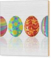 Easter Eggs Wood Print by Carlos Caetano