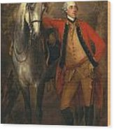 Edward Viscout Ligonier Wood Print by Thomas Gainsborough