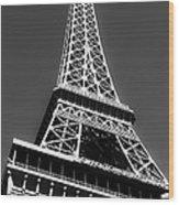 Eiffel Tower Vegas Style Wood Print by Leslie Leda