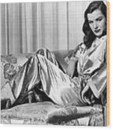 Ella Raines, Universal Pictures Wood Print by Everett