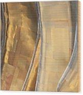 Emp Fools Gold Wood Print by Chris Dutton
