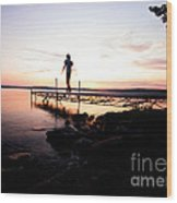 Evanesce - I'm Not Here Wood Print by Venura Herath