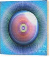 Eye Wood Print by Nicholas Burningham