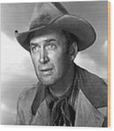 Far Country, The, James Stewart, 1955 Wood Print by Everett