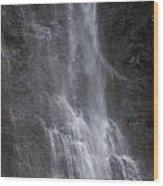 Farie Falls Wood Print by Charles Warren