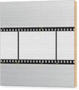 Film Strip Wood Print by Hans Engbers