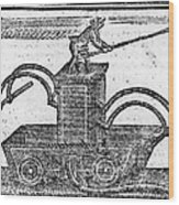 Fire Engine, 1769 Wood Print by Granger