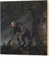 Forest Creeper Wood Print by Daniel Eskridge