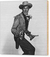 Fort Worth, Randolph Scott, 1951 Wood Print by Everett