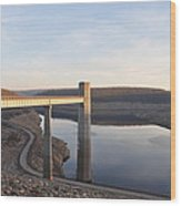 Francis E Walter Dam Wood Print by Bill Cannon