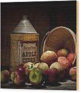 Fresh From The Orchard II Wood Print by Tom Mc Nemar