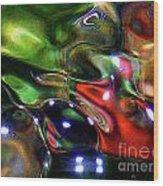 Funshway Light 2 Wood Print by Terril Heilman