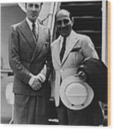 George Balanchine 1907-1983, And Lorenz Wood Print by Everett