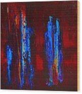 Gospel Of John A Transubstantiation Of The Divine Wood Print by Jonathan E Raddatz
