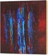 Gospel Of John B Transubstantiation Of The Divine Wood Print by Jonathan E Raddatz