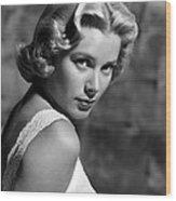 Grace Kelly, 1953 Wood Print by Everett