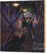 Hollywood Studio's - Rock N Roller Coaster Wood Print by AK Photography