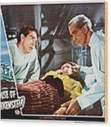 House Of Frankenstein, From Left J Wood Print by Everett
