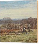 In The New Forest Wood Print by Heywood Hardy
