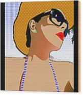 In The Sun Wood Print by Barrington Black