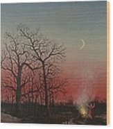 Incantations Of The Witch Wood Print by Tom Shropshire