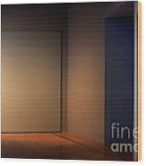 Interior Corner Wood Print by Susan Isakson