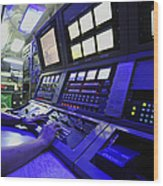 Internal Communications Electrician Wood Print by Stocktrek Images