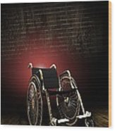 Isolation Through Disability, Artwork Wood Print by Victor Habbick Visions
